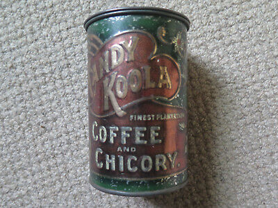KANDY KOOLA COFFEE & CHICORY 1 Lb TIN by JOHN CONNELL & Co MELBOURNE AUSTRALIA