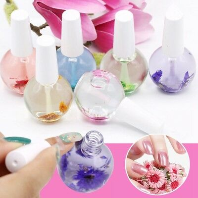 Cuticle Oil Flower Flavor Nail Art Nutrition Care Nail Nourishment 15ml