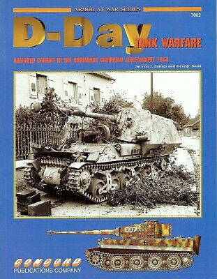 Concord Publications D-Day Tank Warfare   Armored Combat in Normandy Nr 7002
