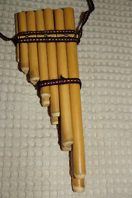 Bamboo Flute Music Instrument From South America