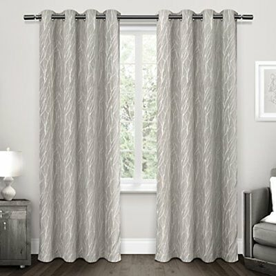 Exclusive Home tende Forest Hill Curtain panel pair, tortora, 54 x 274,3 cm,  pe