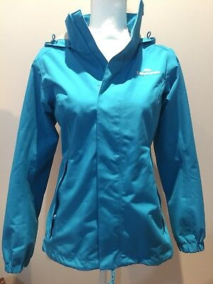 Kathmandu Blue Andula Women's Waterproof Jacket Sz 8