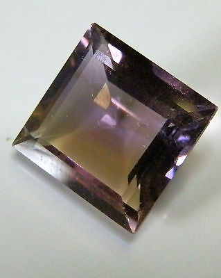 Natural square cut ametrine gem...13.1 Carat