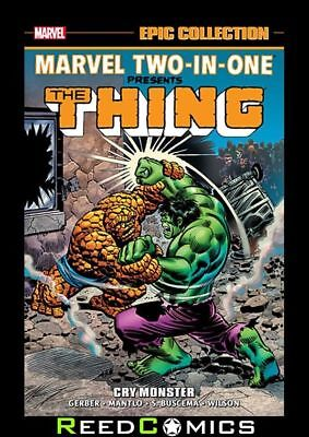 MARVEL TWO IN ONE EPIC COLLECTION CRY MONSTER GRAPHIC NOVEL (432 Pages)