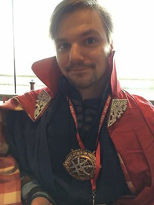 """Doctor Strange Cloak Of Levitation Resin """"Wing Clips With Magnets"""" Cosplay"""