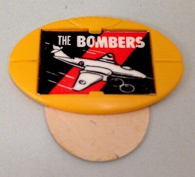 Vintage VFL The Bombers Football Shaped Cereal? Badge/Pin-1960's?
