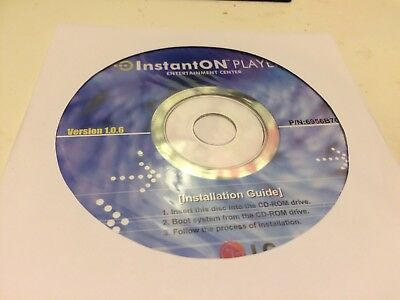 CD InstantON Player Entertainment Centre Version 1.0.6 P/N 6956B70059C