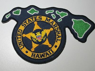 Polizei Abzeichen / Police Patch - USA - Staat Hawaii - US Marshal