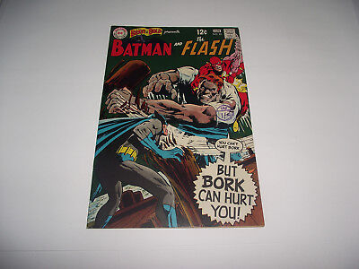 Dc The Brave And The Bold #81 Batman And The Flash Neal Adams Art 1960S