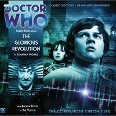 DOCTOR WHO - Companion Chronicles Big Finish Audio CD #4.02 GLORIOUS REVOLUTION