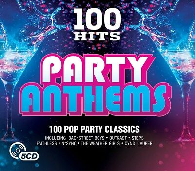 100 Hits: Party Anthems - Various Artists (Box Set) [CD]