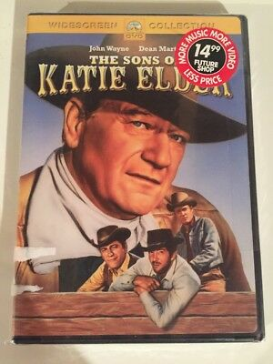 The Sons of Katie Elder (DVD, 2001, Checkpoint) NEW!