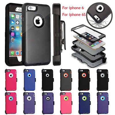 Defender Case for iPhone 6 & 6s with Screen(Belt Clip fit for Otterbox Defender)