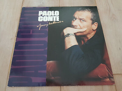 Paolo Conte ‎– Jimmy, Ballando - CGD 209 343 - Lyrics - VG++