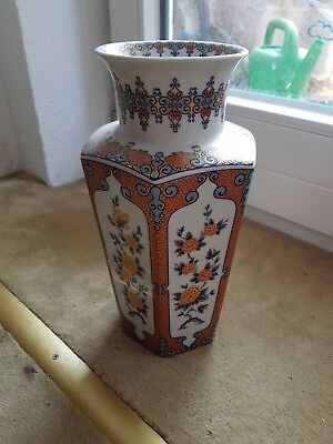 Vase Royal Porzellan Bavaria Germany Blumenmotiv