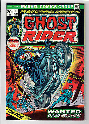GHOST RIDER #1 - Grade 7.0 - First Appearance of Daimon Hellstrom!!!