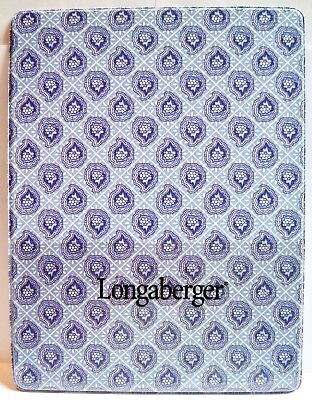 Longaberger Provincial Paisley Vinyl Writing Lap Board Used By Sales Consultants