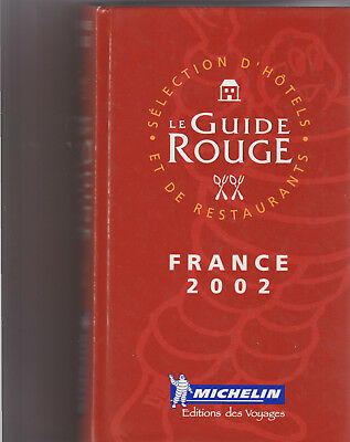 Guide Rouge France 2002