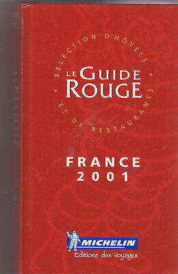 Guide Rouge France 2001