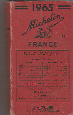 Guide Rouge France 1965