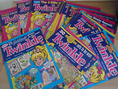 48 TWINKLE  COMICS FROM 1996, issues on listing