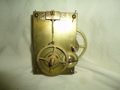 American Banjo Clock Movement with case, dial and eagle
