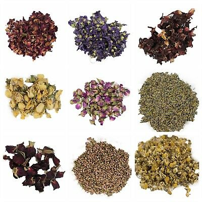 Dried Flowers Dried Petals Dry Botanicals For Bath Bomb, Soaps, Candles etc 10g