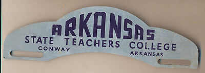 Vintage License Plate Topper Arkansas State Teachers College