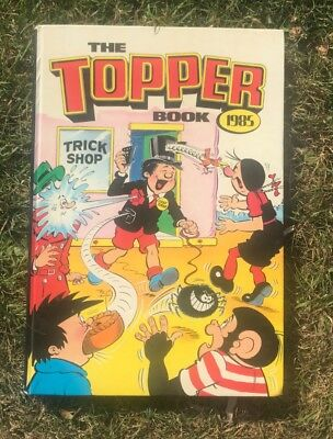 The Topper Book Cartoon Annual 1985