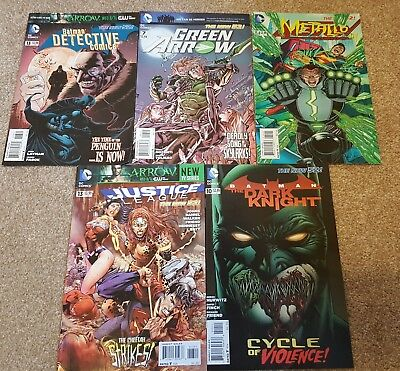 DC NEW 52 GRAB BAG. 5 issues.
