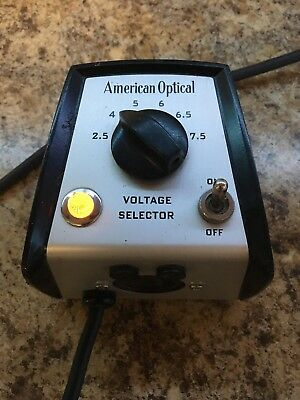 American Optical Model 11144 Microscope Voltage Selector Power Supply CHEAPEST!