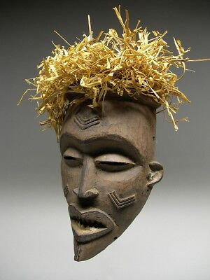 CHOKWE MWANA PWO MASK from D.R. CONGO ~ EXQUISITE !!!