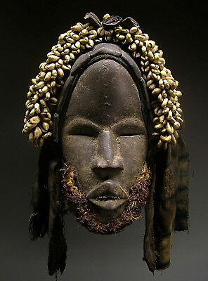 AUTHENTIC ~  DAN Female FETISH MASK from Cote d'Ivoire ~ MAGICAL!!!