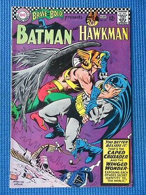 Brave And The Bold # 70 - (Vg+) - Batman And Hawkman