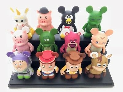 "DISNEY Park Vinylmation 3"" Series 1 Toy Story Complete with CHASER (12 vinyls)"