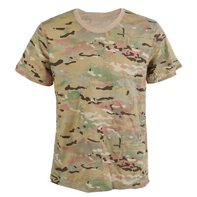 Chasse ete Outdoors Camouflage T-shirt Respirant pour homme Sport Camo Outd M1E7