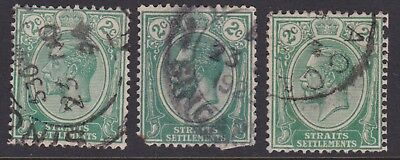 Straits Settlements small collection  FU #2