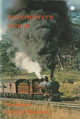 1976 LOCOMOTIVE GUIDE Thirlmere Rail Museum NSW Great old pictures