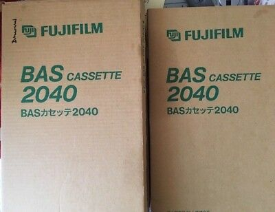 3 NEW boxed FujiFilm BAS Storage Phosphor Screen Cassette 2040, 20x40cm
