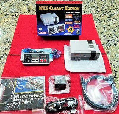 NES Classic Edition Nintendo Mini Entertainment System Console - IN HANDS Ready