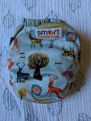 Smart Bottoms 3.1 Kingsley Organic All-in-One OS 8-35lbs Exclusive Print!