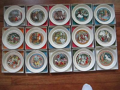 Set Of All Fifteen Wedgewood Hans Anderson Children Stories Collector Plates