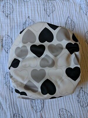 Blueberry Simplex /OS/ All-in-One Diaper / Amour Black and White Hearts