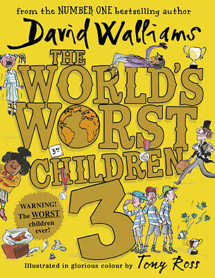 The world's worst children. 3 by David Walliams (Hardback) Fast and FREE P & P