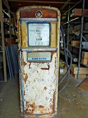vintage gas pump Gilbarco Calco-Meter Gas Pump