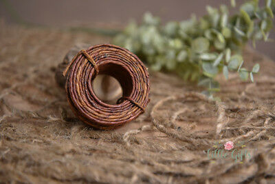 Grape vine craft wire,Paper Coated Wire, floral craft, florist wire 2.5mm X 15m
