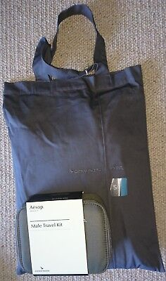 Cathay Pacific First Class Mens Pyjamas, size S and mens first class amenity kit