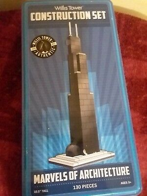 Hard Find block lego Willis/Sears Tower architecture souvenir building set