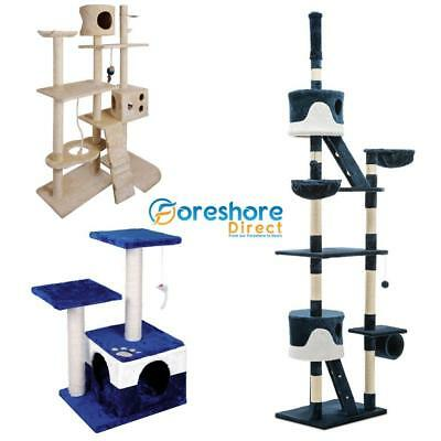 Cat Scratch Post Tree House Climbing Furniture Condo Tower Perch Small to Large