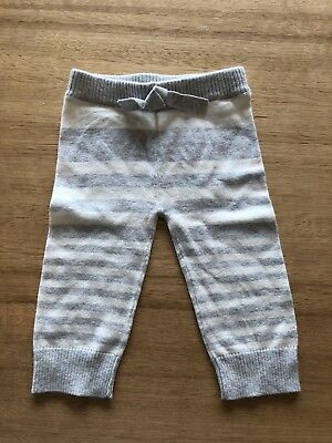 Country Road Baby Knit Pants 3-6 Months